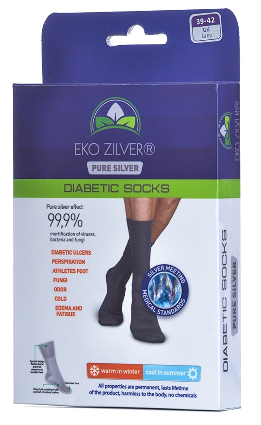 Eko Zilver Socks Interlink International Bv