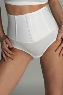 Body Control Briefs With Vertical Supports