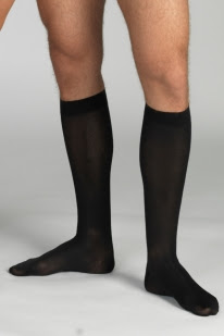 Compression Socks Long With Toecap - Unisex Cotton