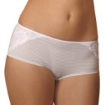 Elastic medical briefs for nursing mothers